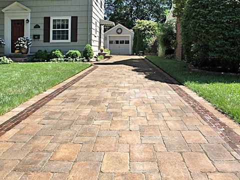 Paver Driveways by SereneScapes